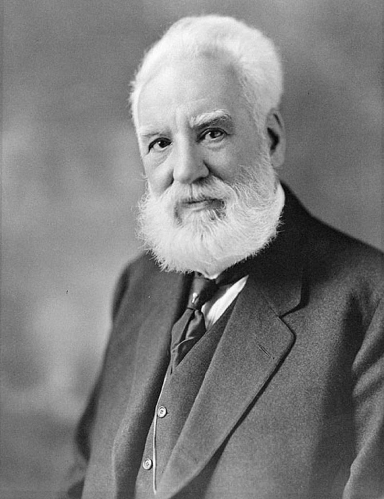 Alexander Graham Bell(1847–1922) Scottish-born inventor, scientist, and engineer who is credited with inventing and patenting the first practical telephone.