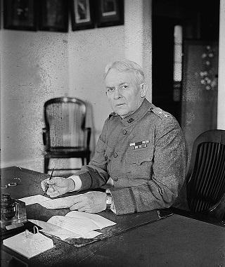 Major General  James Franklin Bell(1856-1919)  Medal of Honor recipient.  Chief of Staff of the United States Army, serving for four years under Presidents Theodore Roosevelt and William H. Taft.
